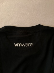 1. VMworld T-shirt - Back