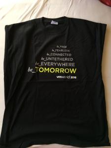 1. VMworld T-shirt - Front