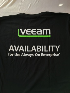 2. Veeam T-shirt - Back